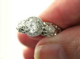 moissanite vintage engagement rings cool custom moissanite engagement rings 95 with additional
