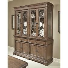 honey oak china cabinet wayfair