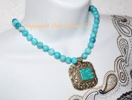 turquoise stone necklace 21 blue turquoise statement necklace boho turquoise nepal repousse