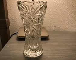 Vintage Waterford Crystal Signed 8 Inch Flower Vase In Crystal Flower Vase Etsy