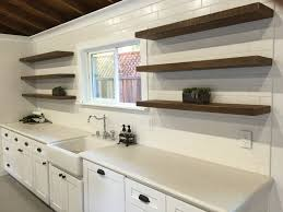kitchen floating shelves kitchen cabinets serveware ice makers