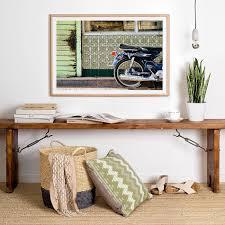 home interior prints creative idea interior decor with brown rustic wood table