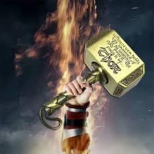 new the avengers thor hammer spinner hand fidget spinner and