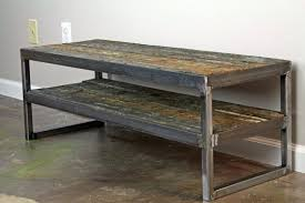 buy a hand crafted reclaimed wood tv stand minimalist media