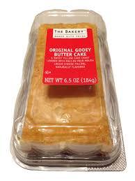 The Bakery At Walmart Signature Original Gooey Butter Cake 6 5 Oz