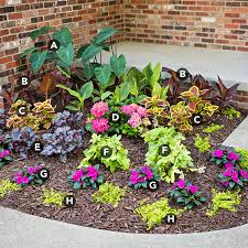 Shady Garden Ideas One Weekend Shade Garden Plans