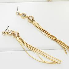 stylish gold earrings earring picture more detailed picture about neoglory