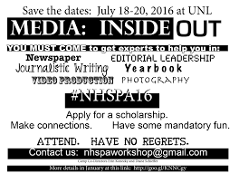 summer workshop information u2013 nhspa online