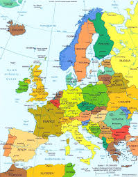 germany europe map germany europe map