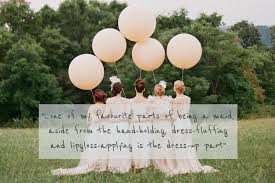 bridesmaids quote a glamorous and sophisticated bridesmaids high fashion and