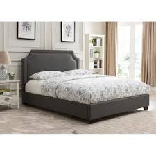 Upholstered Platform Bed King King Size Platform Bed For Less Overstock