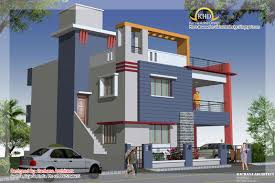 duplex house plan and elevation sq ft home appliance including