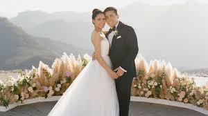 Wedding Photos A Malibu Wedding With A Reception Location Martha