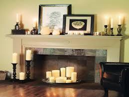 fireplace decor ideas ideas fireplace candles modern design idea and decors ideas