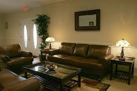 light brown living room dark brown leather sofa decorating ideas wallpaper to match light