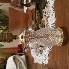 Waterford Table Lamps Waterford Crystal Table Lamp Ebay