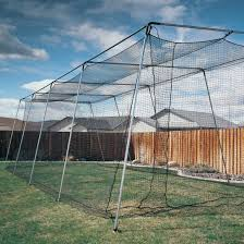 A Frame Kit by Atec 70ft Backyard Batting Cage Net U0026 Frame Kit Atec Sports