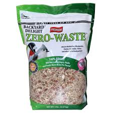 backyard delight 5 lb zero waste bird food 863050 the home depot
