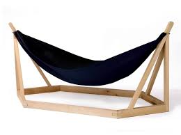 hammock design with wooden frame by laurent corio interior