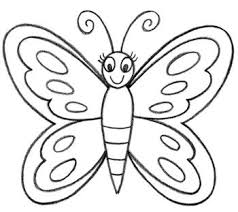 how to draw a butterfly in easy way art designs grandchildren