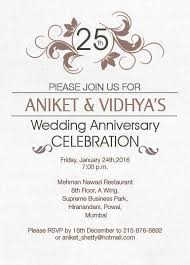 22 best 25th silver wedding anniversary invitation wordings images