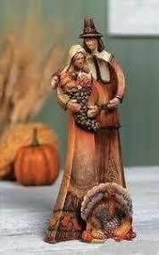 thanksgiving pilgrim figurines holidays thanksgiving
