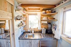 Small House Kitchen Interior Design Live A Big Life In A Tiny House On Wheels