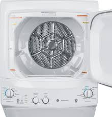 Clothes Dryer Vent Parts Ge Unitized Spacemaker 3 2 Doe Cu Ft Washer And 5 9 Cu Ft Gas