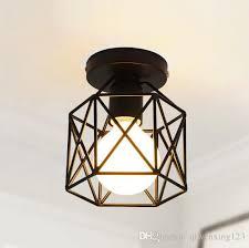 loft style retro industril led ceiling light fixtures simple iron