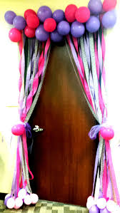 birthday decorations best 25 birthday door decorations ideas on streamer