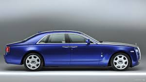 roll royce blue 2013 rolls royce ghost mazarine blue side hd wallpaper 4