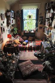 Wiccan Home Decor | a lot of wiccans dedicate a whole room to all their wicca belongings