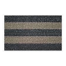 Patio Door Mat Clean Machine 18 Inch X 30 Inch Patio Striped Scraper Doormat In