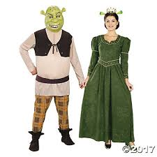 shrek u0026 princess fiona couples costumes