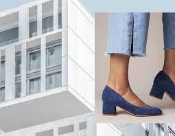 low block heels shoes of prey