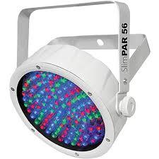 chauvet slimpar 56 led light chauvet dj slimpar 56 rgb led par wash light slimpar56wht b h