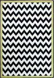 Black And White Modern Rug Milliken Area Rugs Black White Rugs Vibe Border Citrus Black