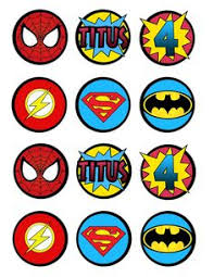 cake avengers a team cupcake edible icing 15 toppers visit to