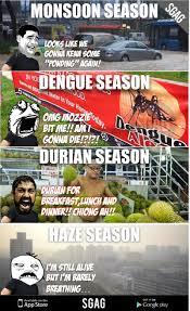 Singapore Meme - introducing the four seasons of singapore