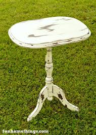 Chalk Paint Side Table Chippy Chalk Paint Side Table Makeover Fun Home Things