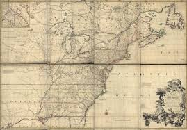 Map Of England And France by 1755 To 1759 Pennsylvania Maps