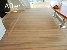 Marine Laminate Flooring Yatch Teak Deck Sanding And Repairs Fort Lauderdale Fl Custom