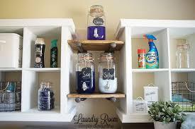 Shelf Ideas For Laundry Room - laundry room shelving makeover hometalk