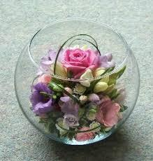 Glass Bowl Vases The 25 Best Fish Bowl Vases Ideas On Pinterest Diy Flower