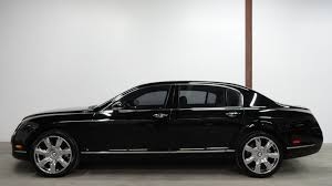 bentley suv matte black 2006 bentley continental flying spur low miles nice options