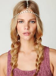 hippie hair bands how to rock a center part