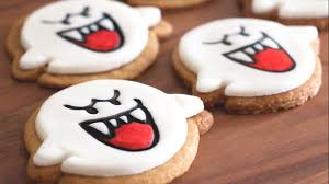 sugar cookie fingers halloween boo sugar cookies super mario bros catabot youtube