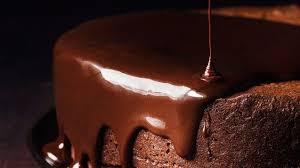 wine chocolate darkest chocolate cake with wine glaze recipe bon appetit