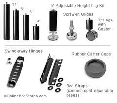 Leggett And Platt Adjustable Bed Frame Adjustable Bed Parts U0026 Repair Replacement Legs Obs