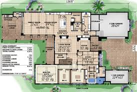 modern 2 story house plans plan w66309we coastal contemporary 2 story home plan e